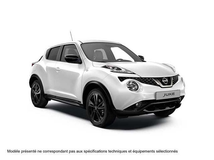 Nissan JUKE 2016 DIG-T 115CH 6MT 4X2 TEKNA PERSO BLANCHE 18'