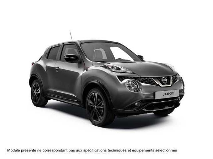 Nissan JUKE 2016 DIG-T 115CH 6MT 4X2 TEKNA PERSO ROUGE 18'